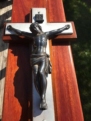 Crucifix Sterling Silver  Large Mhw