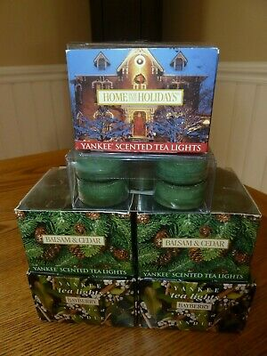 Lot Yankee Candle 70 Tea Lights Or 6 Boxes, Brand New  ~ Some Rare Retired