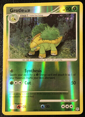 Pokemon Diamond & Pearl Grotle 49/130 Reverse Holo Lightly Played Fast Shipping!