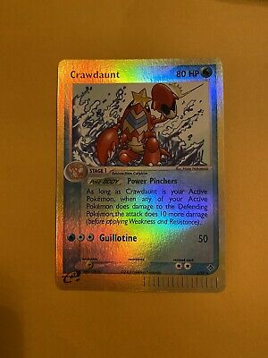 Crawdaunt 3/97 Reverse HOLO RARE Pokemon Card 2003 Ex Dragon Near Mint!