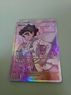 Diantha 130/131 Full Art Holo Rare Forbidden Light pokemon TCG Mint/NM
