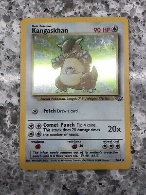 Kangaskhan 5/64 Jungle Set 1999 Holofoil Rare Holo Pokemon VG