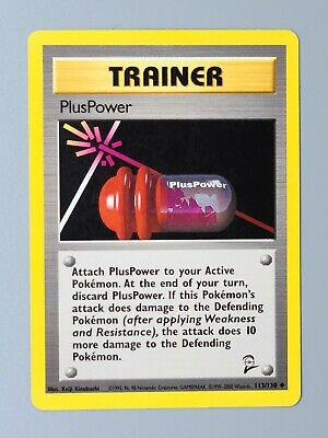 PlusPower 113/130 Base Set 2 Pokemon