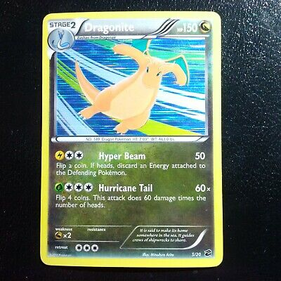 Pokemon Card Dragonite Holo Rare Dragon Vault 5/20