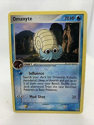 Omanyte 2007 Ex Power Keepers Pokemon Card 56/108 Rare NM