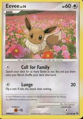 Eevee - 62/100 - Common Majestic Dawn Pokemon LP