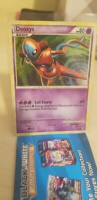 Deoxys Call of Legends Holo Pokemon Card 2/95