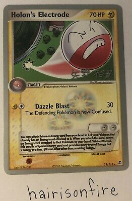 Holon's Electrode 21/113 Delta Species Lightly Played Pokemon Card Rare