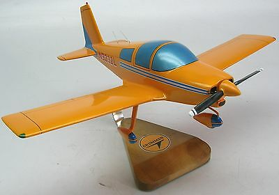 Grumman American Aa-1 Yankee Airplane Wood Model Replica Large Free Shipping