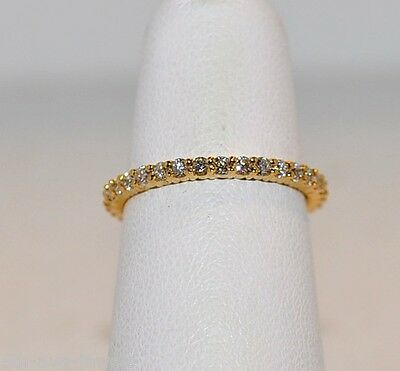 .73ct Diamond Eternity Ring In 18kt Yellow Gold