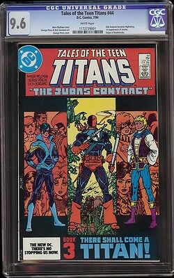 Tales Of The Teen Titans # 44 Cgc Nm+ 9.6 White (1st Nightwing)