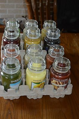 Yankee Candle 22oz Large Jars Yellow Label , All New, You Choose Scent