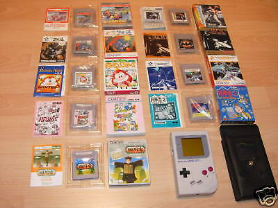 Lot Of Japanese Import Gameboy Games & Original System
