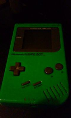 Original Gameboy Green Not A Gameboy Color