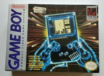 Original Nintendo Game Boy Factory Sealed Handheld System Dmg-01