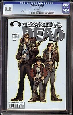 Walking Dead # 3 Cgc 9.6 White (image, 2003) 1st Appearance Dale