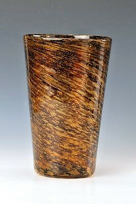 Barovier & Toso Murano Large Glass Vase Italy  1970s