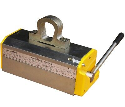 Armstrong Lifting Magnet Nl-b2 4400 Lb, 13200lb Breakaway, Limited Lifetime Wrty