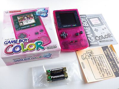 New Original Nintendo Gameboy Color Console Sakura Taisen War Limited Boxed