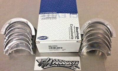 Chevy Small Block 305 327 350 383 Clevite A-series Ms909a  Main Bearing Set Std