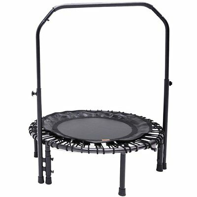 Skybound Nimbus Fitness Rebounder Trampoline With Handlebar