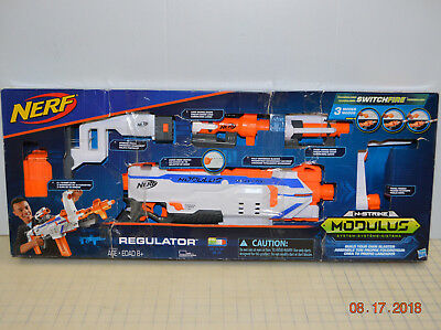 Nerf Modulus Regulator W/ Full Modulus System Create Over 1000 Different Combos