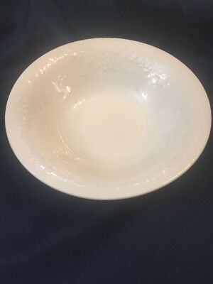 "Gibson White Four Seasons 10"" Round Vegetable Bowl Serving Housewares C 1996"