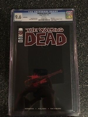 Walking Dead Comic 100 Lucille Unsigned! 1 Of 10  Extremely Rare!!! Not Red Foil