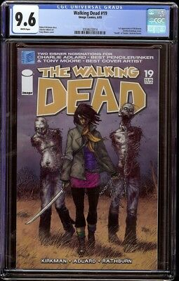 Walking Dead # 19 Cgc 9.6 White (image, 2004) 1st Michonne