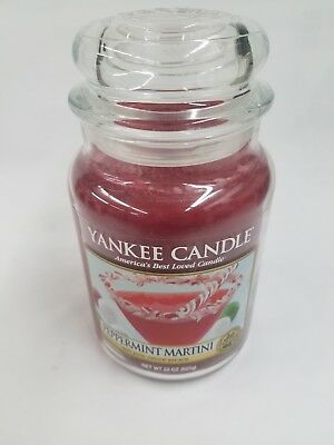 Yankee Candle Peppermint Martini 22 Oz 1 Wick Candle