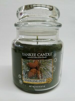Yankee Candle Sparkling Pine 14.5 Oz 1 Wick Candle