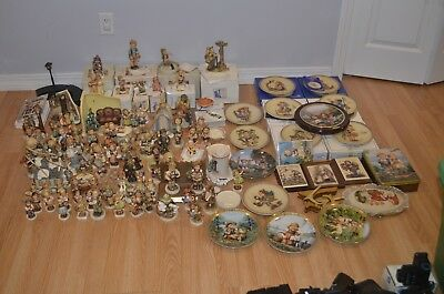 Large Lot Of 80+ Hummel Figurines And 13 Plates