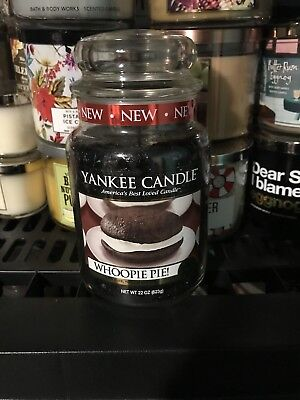 "Yankee Candle ""whoopie Pie"" 22oz Large Jar Rare And Very Hard To Find"