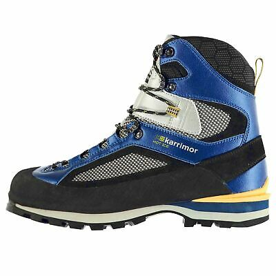 Karrimor Hot Ice Wtx Waterproof Mountain Walking Boots Mens Blue Hiking Shoes