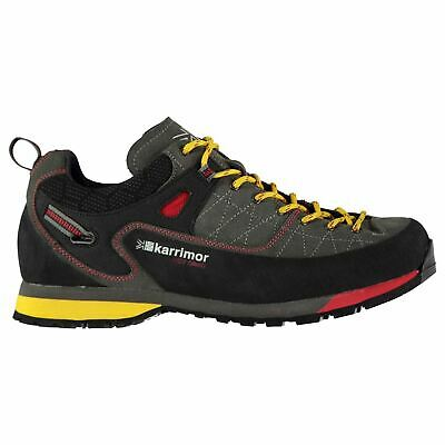 Karrimor Hot Crag Walking Shoes Mens Grey Hiking Footwear Boots
