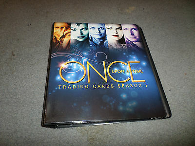 Once Upon A Time Complete Card Set W/ Album. Promo, All Auto, Costume + A Sketch