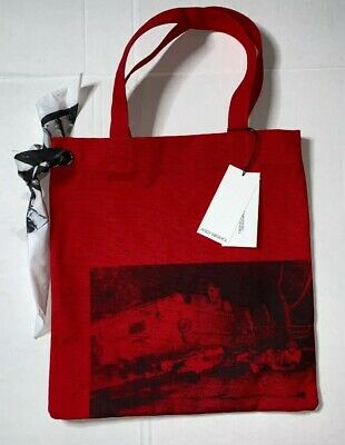 brand new limited calvin klein x andy warhol 205w39nyc canvas tote raf simons