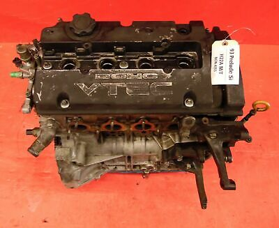 92-96 Honda Prelude Jdm Engine Motor Long Block Assembly H22a Dohc Vtec 200psi *