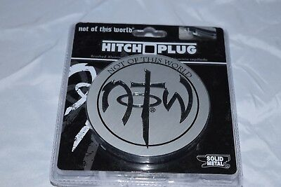 New Sealed Notw Not Of This World Truck /car Trailer Metal Tow Hitch Cover Plug