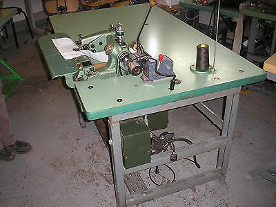 Us Blindstitch 718-9 Drapery Industrial Sewing Machine With Puller
