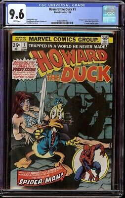 Howard The Duck # 1 Cgc 9.6 White (marvel, 1976) 1st Issue Of Series