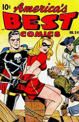 Golden Age Super-hero Comics On 4 Dvd-roms With Reading Software Over 700 Issues