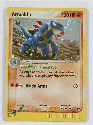 Pokemon Cards EX Sandstorm Set - Holo Cards, Uncommon and Common
