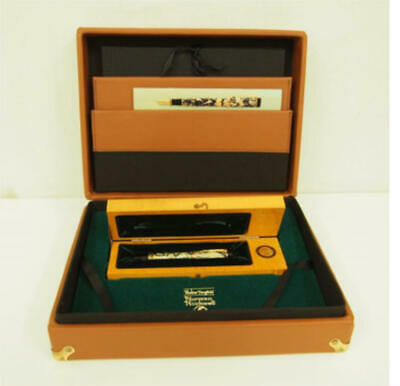 Parker Duofold Fountain Pen Norman Rockwell 1996 18k 3500 Limited Unused W/box