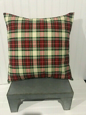 "Christmas Lodge Plaid/16"" X 16""/18""x18""/20"" X 20"" Cotton Pillow Cover/"