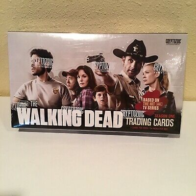 Amc The Walking Dead Cryptozoic 2011 Season 1 Trading Cards New Sealed Box Rare!