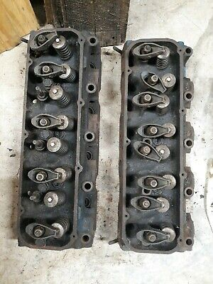 1968 Ford 429 460 Cylinder Heads C8ve-e High Compression