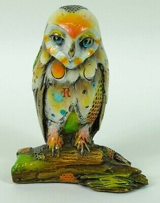 Nano Lopez Owl Signed Numbered 155/250bronze Sculpture Sold Out