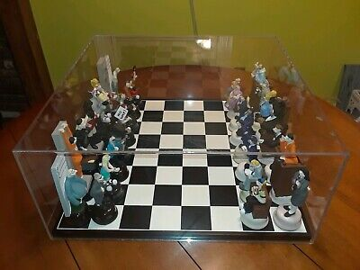 Ultra Rare Doug Anderson Chess Set Law & Order Hand Made Signed Numbered Comical