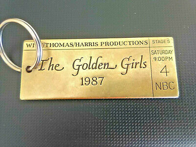 """""""the Golden Girls"""" Vintage Key Chain From The Production Crew"""